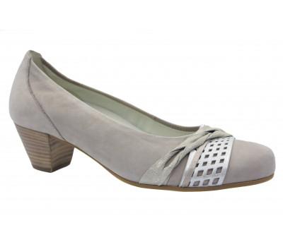 Туфли Gabor светло-бежевые из нубука 46154