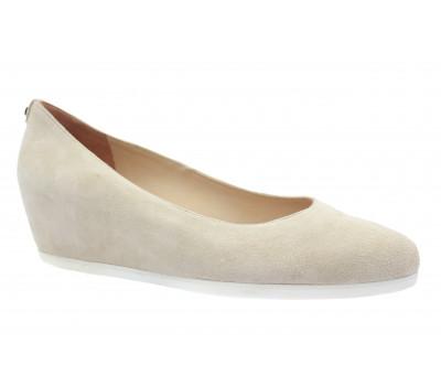 Туфли Hogl замшевые светло-бежевые 5-104202
