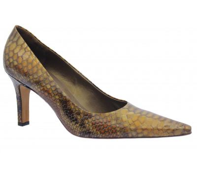 Модельные туфли Peter Kaiser из лакированной кожи коричневые 74601-372