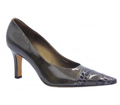 Модельные туфли Peter Kaiser из лакированной кожи коричневые 74603-692