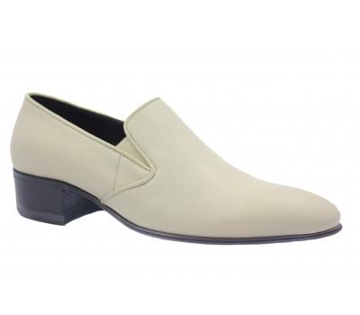 Туфли ROMIT кожаные бежевые 15089