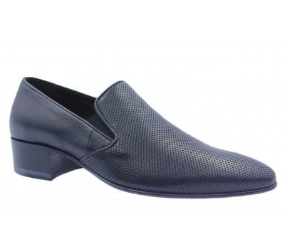 Туфли ROMIT кожаные черные 15089