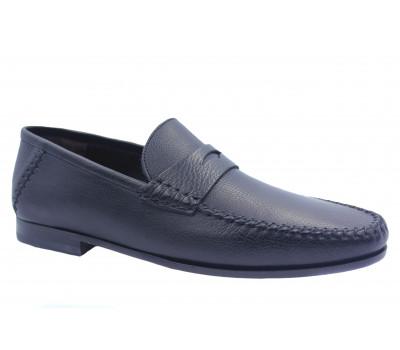Туфли ROMIT кожаные черные 14481