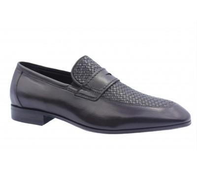 Туфли ROMIT кожаные темно-коричневые 13441