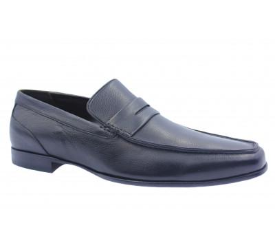 Туфли ROMIT кожаные черные 10418