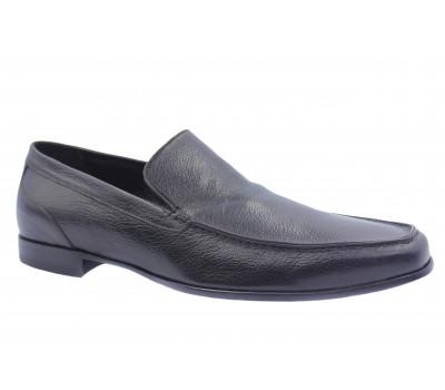 Туфли ROMIT кожаные темно-коричневые 10416