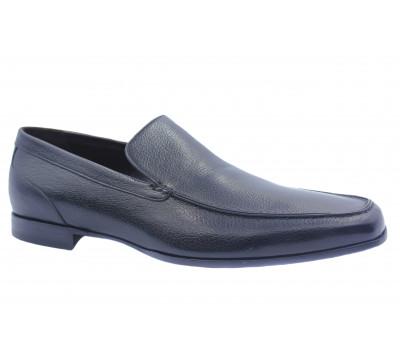 Туфли ROMIT кожаные черные 10416