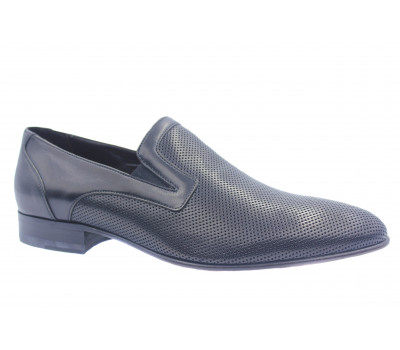 Туфли ROMIT кожаные черные 13664