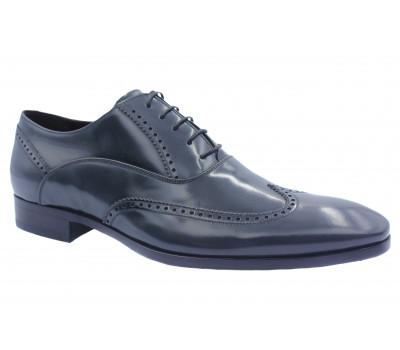 Туфли ROMIT HAND MADE кожаные серые 13206