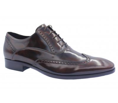 Туфли ROMIT HAND MADE кожаные коричневые 13206