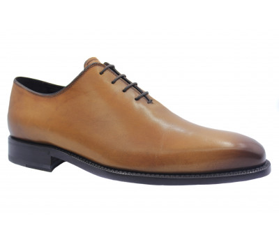 Туфли ROMIT HAND MADE кожаные рыжие 9475