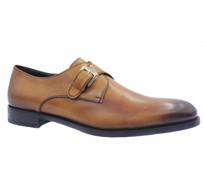 Туфли ROMIT HAND MADE кожаные рыжие 10833