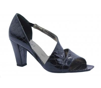 Модельные туфли Hogl из лакированной кожи черные 7-107619