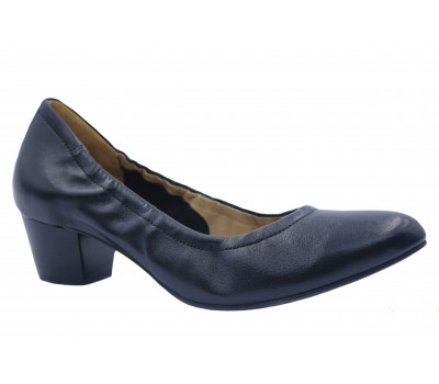 Туфли Hogl кожаные черные 8-104110