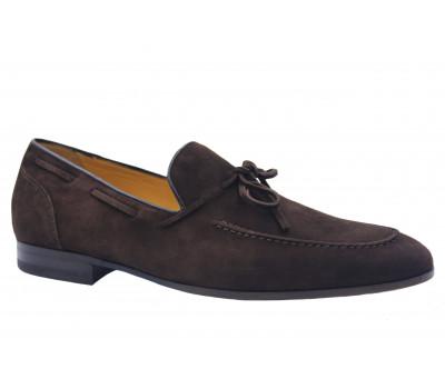 Туфли Romit замшевые темно-коричневые 13498