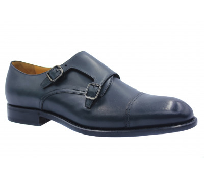 Туфли ROMIT HAND MADE кожаные серые 16219