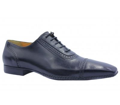 Туфли ROMIT кожаные черные 10068