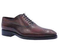 Туфли ROMIT HAND MADE кожаные бордовые