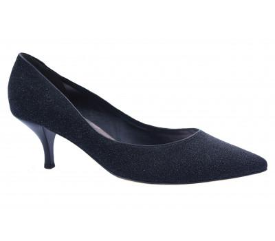 Модельные туфли Hogl замшевые черные 4-105585