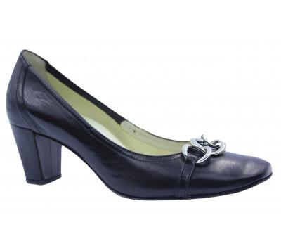 Туфли Hogl кожаные черные 7-105910