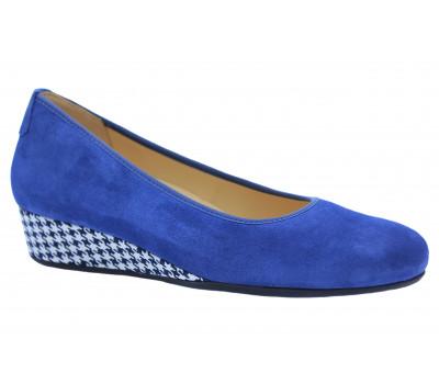 Туфли Hassia замшевые голубые  9-302105