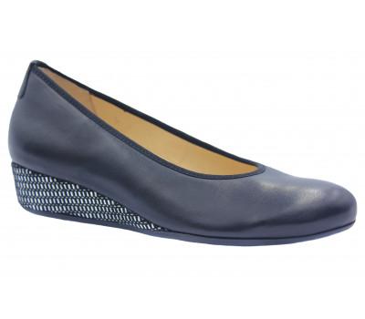 Туфли Hassia кожаные черные 9-302100