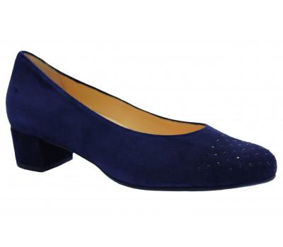 Модельные туфли Hassia замшевые темно-синий 9-303022
