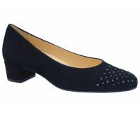 Модельные туфли Hassia замшевые черные