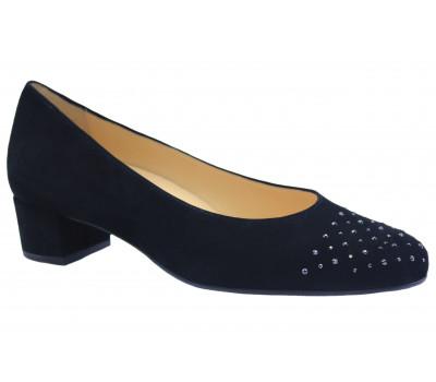 Модельные туфли Hassia замшевые черные 9-303022