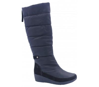 Сапоги демисезонные РМ Shoes из текстиля черные