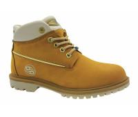 Зимние ботинки Dockers из нубука песочные