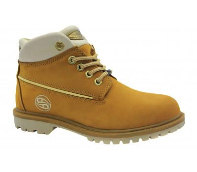 Зимние ботинки Dockers из нубука песочные 209020