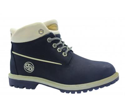 Зимние ботинки Dockers из нубука черные 209020
