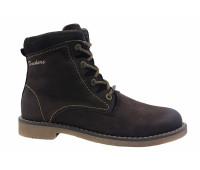 Зимние ботинки Dockers из нубука коричневые