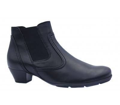 Ботильоны Gabor кожаные черные 75632