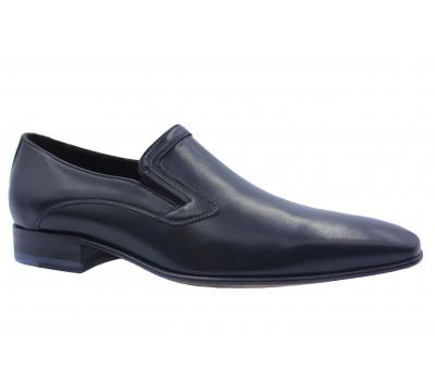 Туфли ROMIT кожаные черные 10900