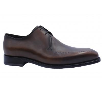 Туфли ROMIT HAND MADE кожаные темно-коричневые 10834