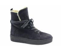 Ботинки Gabor замшевые серые