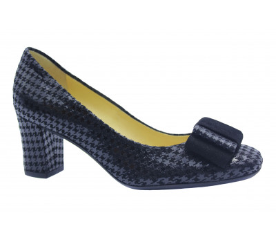 Модельные туфли Peter Kaiser из крека черные 60233-591