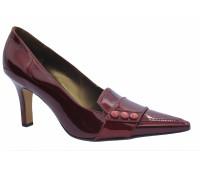 Туфли  Peter Kaiser из лакированной кожи бордовые