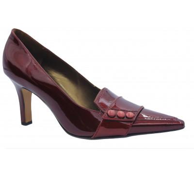 Туфли Peter Kaiser из лакированной кожи бордовые 74659-857