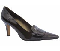 Туфли  Peter Kaiser из лакированной кожи коричневые