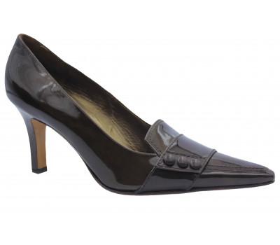 Туфли Peter Kaiser из лакированной кожи коричневые 74659-909