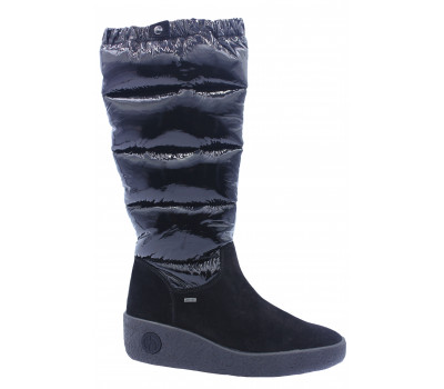 Сапоги зимние  Hogl замшевые черные 6-102718