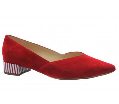 Туфли Peter Kaiser замшевые красные 21503-600