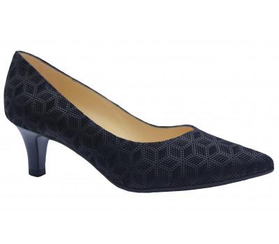 Туфли Peter Kaiser из крека черные 58511-115