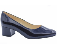 Модельные туфли Peter Kaiser из лакированной кожи темно- синие