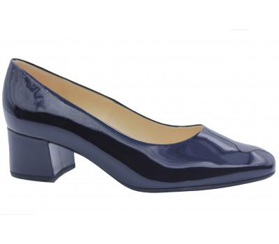 Модельные туфли Peter Kaiser из лакированной кожи темно-синие 54501-523