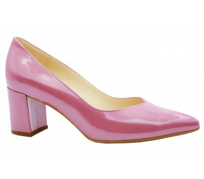 Модельные туфли Peter Kaiser из лакированной перламутровой кожи чайная роза 67511-500