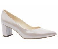 Туфли Peter Kaiser из лакированной перламутровой  кожи светло-бежевые